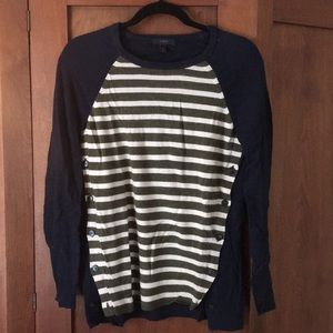 J Crew wool sweater with elbow patches
